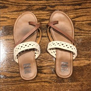 BILLABONG crochet sandals